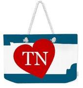 Love Tennessee White Weekender Tote Bag