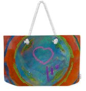 Love The Sea Weekender Tote Bag