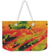Love Those Diagonals - Yellow 1 Weekender Tote Bag