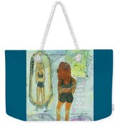 Love Who You Are  Weekender Tote Bag