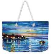 Love With The Sea Weekender Tote Bag