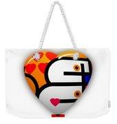 Love You Babe Weekender Tote Bag