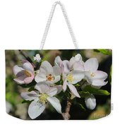 Lovely Apple Blossoms Weekender Tote Bag