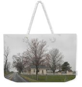 Lovely Day At An Amish Schoolhouse Weekender Tote Bag