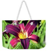 Lovely Day Lily Weekender Tote Bag