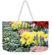 Lovely Flowers In Manito Park Conservatory Weekender Tote Bag