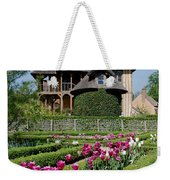Lovely Garden And Cottage Weekender Tote Bag