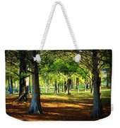 Lovely Grouping Of Trees In Mississippi Weekender Tote Bag