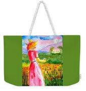 Lovely Lady Landscape Weekender Tote Bag
