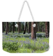 Lovely Lupine In The Mountains Weekender Tote Bag