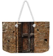 Lovely Old Door Weekender Tote Bag