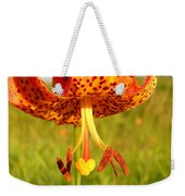 Lovely Orange Spotted Tiger Lily Weekender Tote Bag