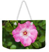 Lovely Pink Rose Weekender Tote Bag