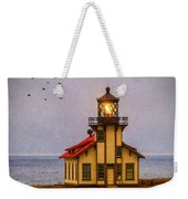 Lovely Point Cabrillo Light Station Weekender Tote Bag