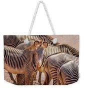 Lovely Stripes  7589 Weekender Tote Bag