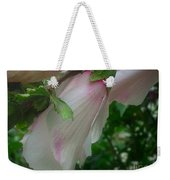 Lovely White And Pink Flowers Weekender Tote Bag