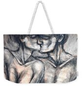 Lovers - Kiss Weekender Tote Bag