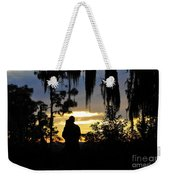 Lover's At Sunset Weekender Tote Bag
