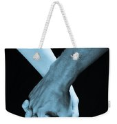 Lovers Hands Weekender Tote Bag