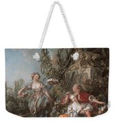 Lovers In A Park Weekender Tote Bag