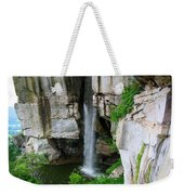 Lover's Leap Waterfall Weekender Tote Bag