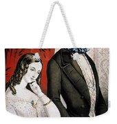 Lovers Quarrel, 1846 Weekender Tote Bag