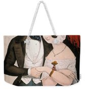 Lovers Reconciliation Weekender Tote Bag