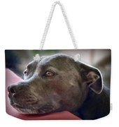 Loving Pitbull Eyes Weekender Tote Bag