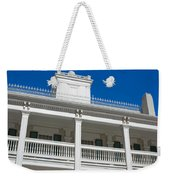 Low Angle View Of Brigham Youngs Weekender Tote Bag