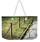 low fence Chain Weekender Tote Bag