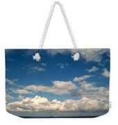 Low Hanging Clouds Weekender Tote Bag