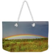 Low Lying Rainbow Weekender Tote Bag