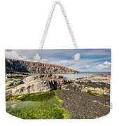Low Tide At Cullernose Point Weekender Tote Bag