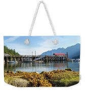 Low Tide At Horseshoe Bay Canada On A Sunny Day Weekender Tote Bag