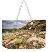 Low Tide At Saddle Rocks Weekender Tote Bag