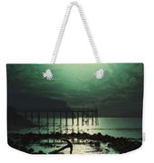 Low Tide By Moonlight Weekender Tote Bag