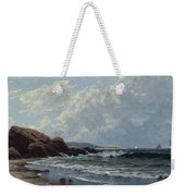 Low Tide, Hetherington's Cove, Grand Manan By Alfred Thompson Bricher Weekender Tote Bag