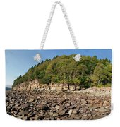 Low Tide Panorama Weekender Tote Bag