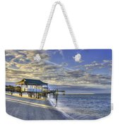 Low Tide Sunrise Tybee Island Weekender Tote Bag
