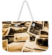 Lowdown On A Vintage Photo Collections Weekender Tote Bag