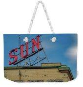 Lowell Sun Sign Weekender Tote Bag