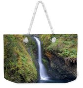 Lower Butte Creek Falls Plunging Into A Pool Weekender Tote Bag
