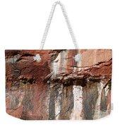 Lower Emerald Pool Rock-zion National Park Weekender Tote Bag by PJ Boylan