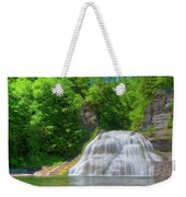 Lower Falls 0485 Weekender Tote Bag