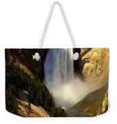 Lower Falls 2 Weekender Tote Bag