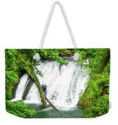 Lower Falls 4 Weekender Tote Bag