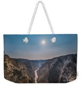 Lower Falls At Artist Point  Weekender Tote Bag