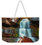 Lower Falls At Kaaterskill Weekender Tote Bag
