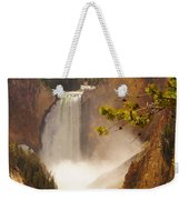 Lower Falls From Artists Viewpoint Weekender Tote Bag