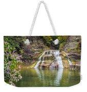 Lower Falls Of Enfield Glen Robert H. Treman State Park Weekender Tote Bag